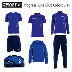 Craft Progress Line Club Cobolt Blau